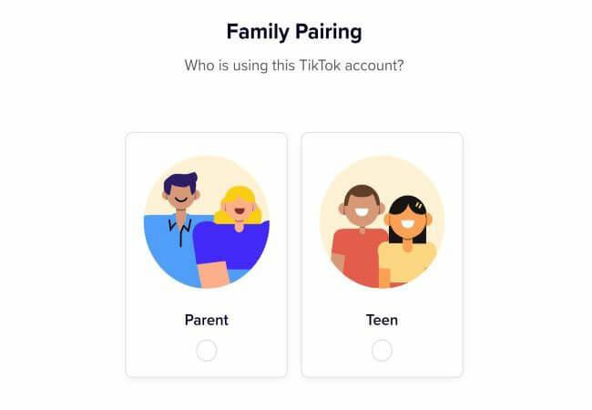 tiktok family pairing