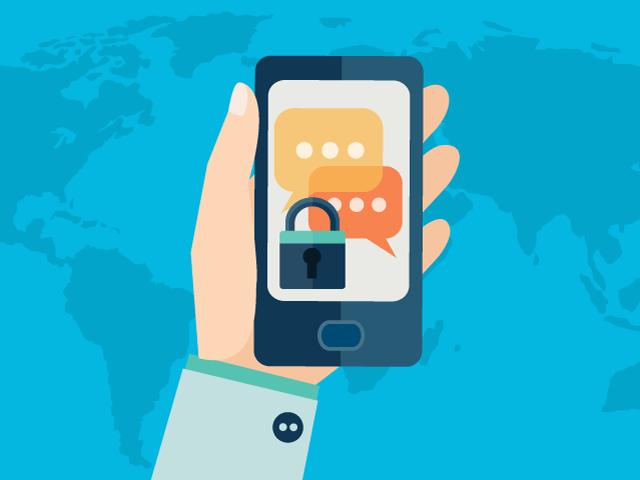 top secret texting apps