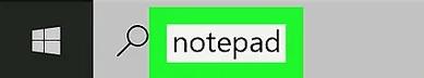 type notepad