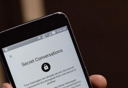 use facebook secret conversation