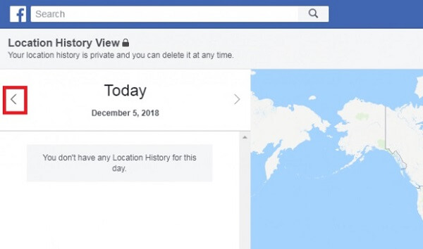view locations on facebook
