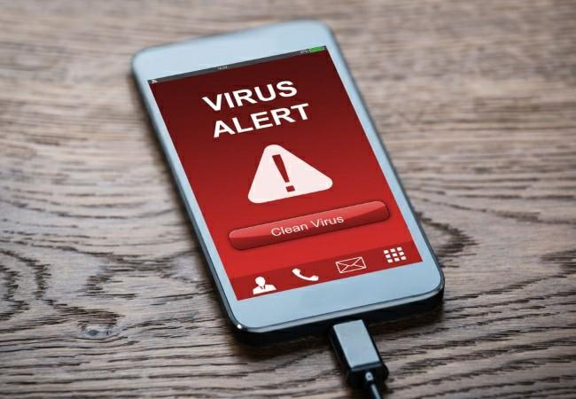 virus on phone