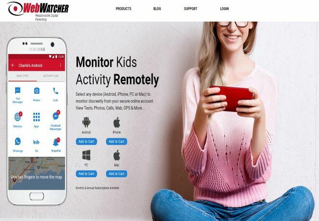 webwatcher parent app