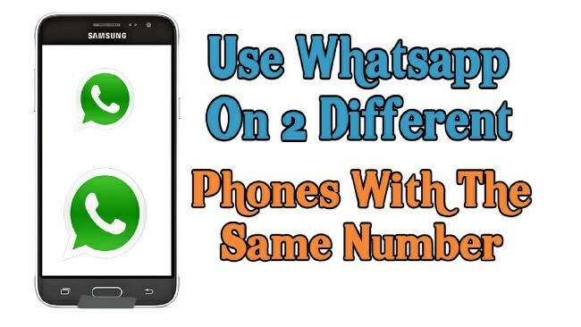 run the same whatsapp account on two devices